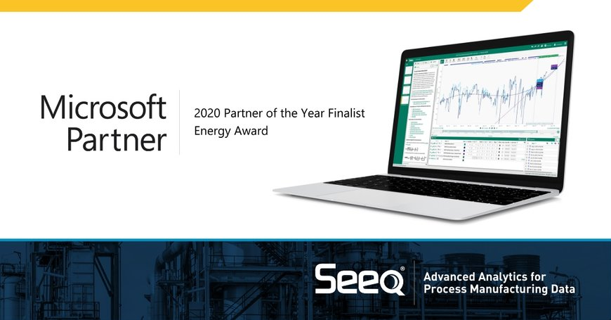 Seeq er godkendt som finalist til Energy 2020 Microsoft Partner of the Year